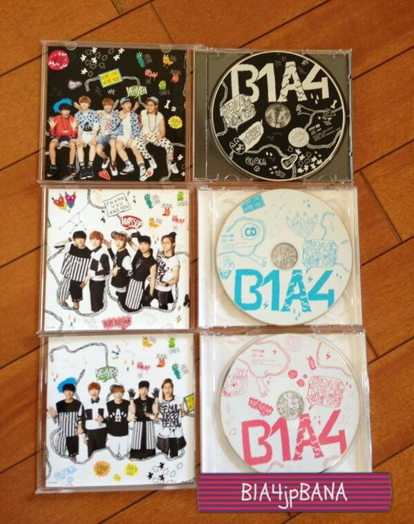 B1A4 - What's Going On Japanese Version
