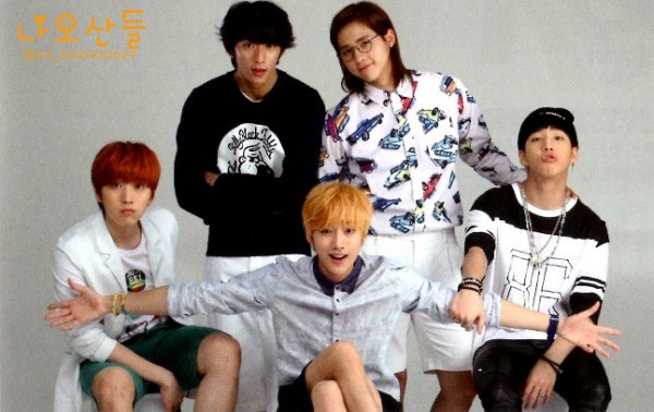 "[HQ] B1A4 for ""K&"" Japanese magazine vol.10 (18)"