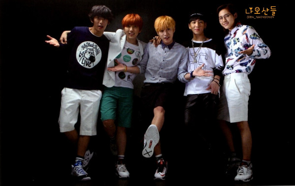 "[HQ] B1A4 for ""K&"" Japanese magazine vol.10 (20)"