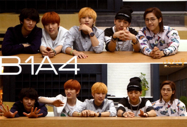 "[HQ] B1A4 for ""K&"" Japanese magazine vol.10 (25)"