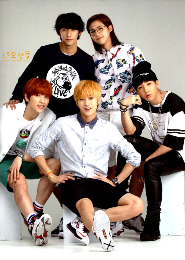 "[HQ] B1A4 for ""K&"" Japanese magazine vol.10 (3)"