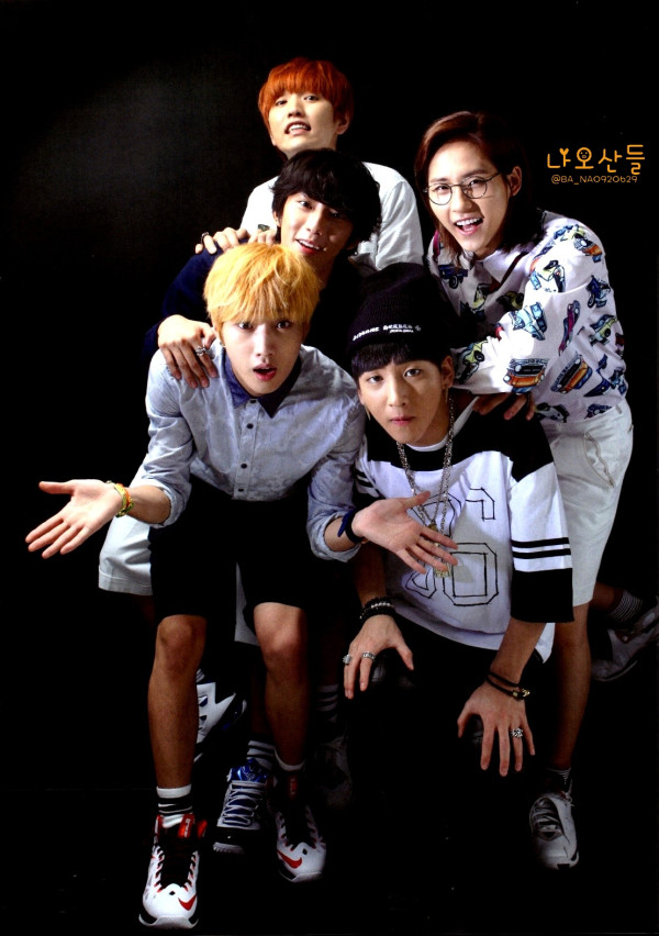 "[HQ] B1A4 for ""K&"" Japanese magazine vol.10 (4)"