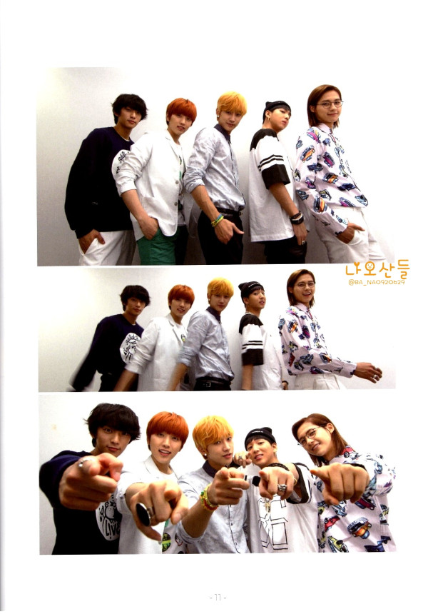 "[HQ] B1A4 for ""K&"" Japanese magazine vol.10 (9)"