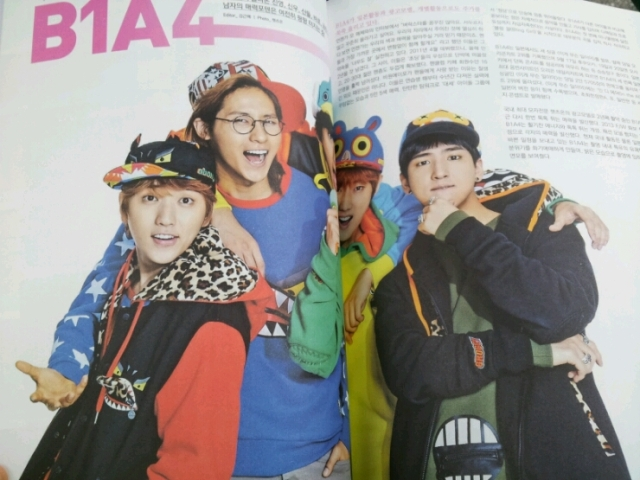 B1A4 BROMIDE - November Issue (2)